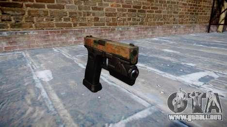 Pistola Glock 20 de la selva para GTA 4