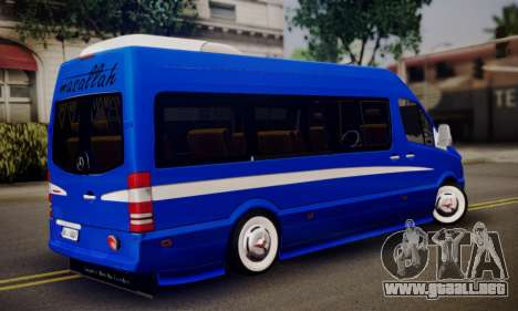 Mercedes-Benz Sprinter Dolmus v2 para GTA San Andreas left