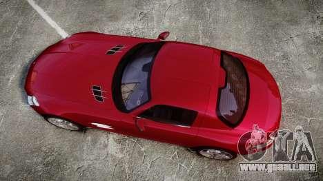 Mercedes-Benz SLS AMG [EPM] para GTA 4 visión correcta