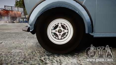 Mini Miglia [Updated] para GTA 4 vista hacia atrás