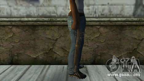 Trabuco from Assassins Creed 4: Freedom Cry para GTA San Andreas tercera pantalla
