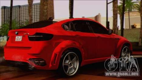 BMW X6M Lumma para GTA San Andreas left
