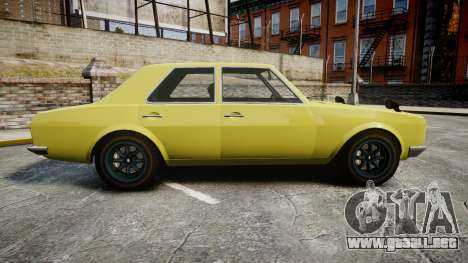 Vulcar Warrener para GTA 4 left