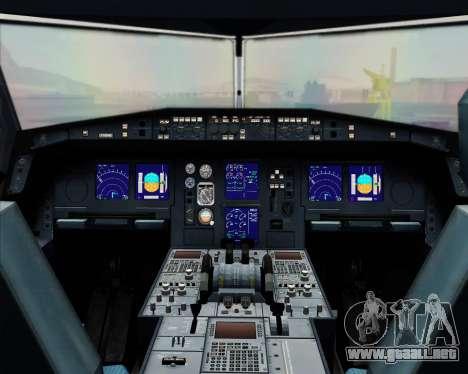 Airbus A330-300 Finnair (Current Livery) para GTA San Andreas interior