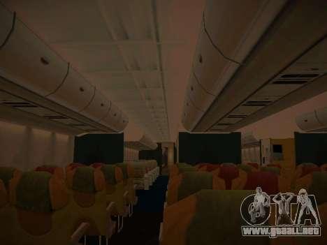 Airbus A380-800 Lufthansa para las ruedas de GTA San Andreas