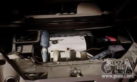 Peugeot RCZ para visión interna GTA San Andreas