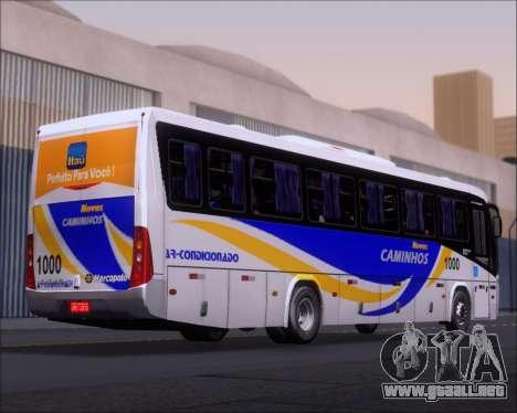 Marcopolo Ideale 770 - Volksbus 17-230 EOD para GTA San Andreas vista hacia atrás