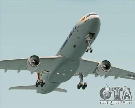 Airbus A330-300 SriLankan Airlines para vista lateral GTA San Andreas