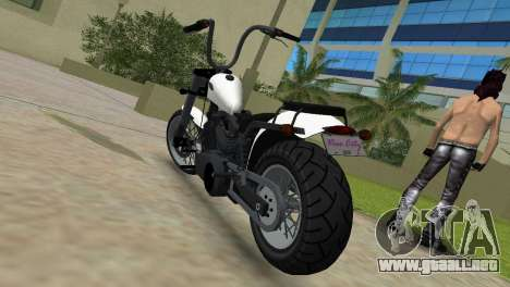 WMC Daemon para GTA Vice City vista lateral izquierdo