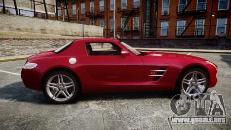 Mercedes-Benz SLS AMG [EPM] para GTA 4 left