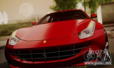 Ferrari FF 2012 para vista lateral GTA San Andreas