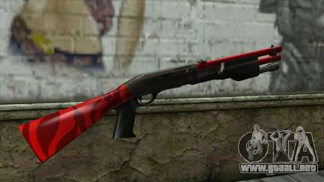 Shotgun para GTA San Andreas segunda pantalla