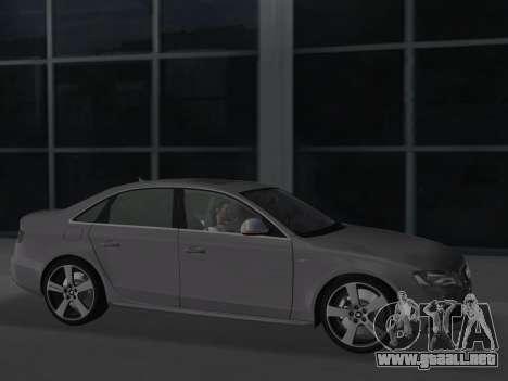 Audi S4 (B8) 2010 - Metallischen para GTA Vice City vista posterior