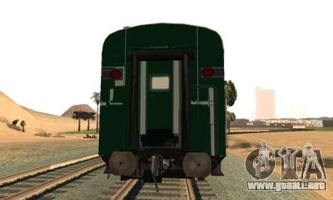 Pakistan Railways Train para la visión correcta GTA San Andreas
