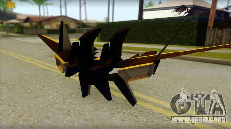 Machine Wing Jetpack para GTA San Andreas
