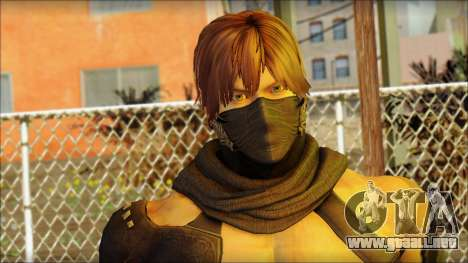 Ryu True Fighter From Dead Or Alive 5 para GTA San Andreas tercera pantalla