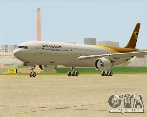 Airbus A330-300P2F UPS Airlines para la visión correcta GTA San Andreas