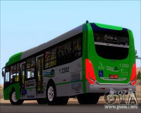 Caio Induscar Millennium BRT Viacao Gato Preto para las ruedas de GTA San Andreas
