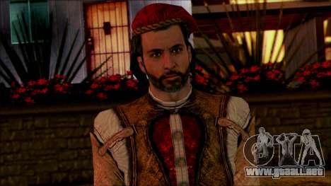 Ezio from Assassins Creed para GTA San Andreas tercera pantalla