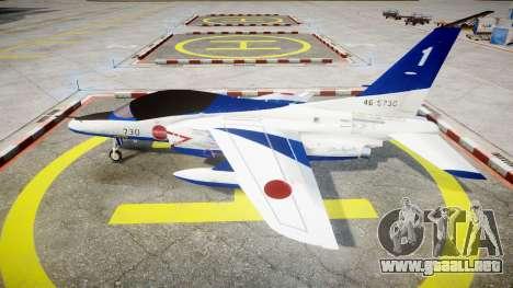 Kawasaki T-4 para GTA 4 left