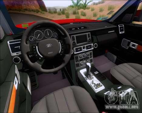 Land Rover Discovery 4 para las ruedas de GTA San Andreas