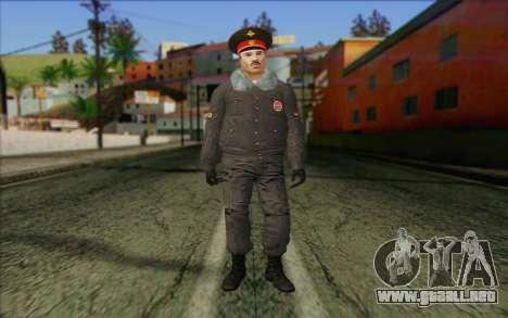 La Policía De Rusia, La Piel De 1 para GTA San Andreas