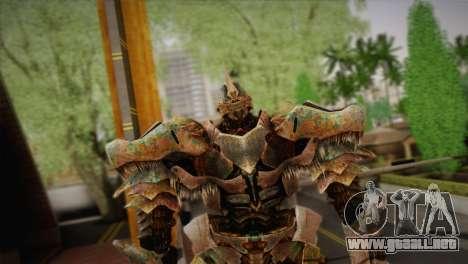Grimlock v1 para GTA San Andreas tercera pantalla