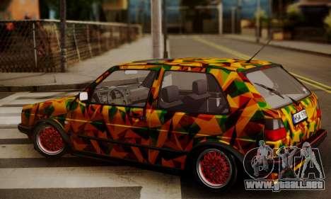 Volkswagen Golf Mk2 para GTA San Andreas left