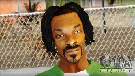 Snoop Dogg Mod para GTA San Andreas tercera pantalla