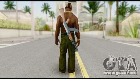 MR T Skin v7 para GTA San Andreas segunda pantalla