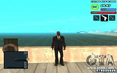 C-HUD by SampHack v10 para GTA San Andreas