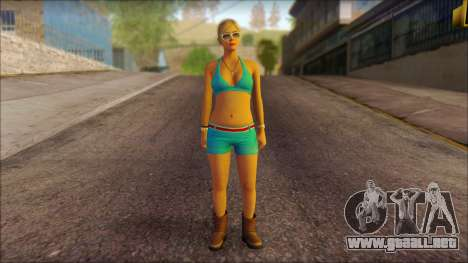 Tracey De Santa barefoot from GTA V