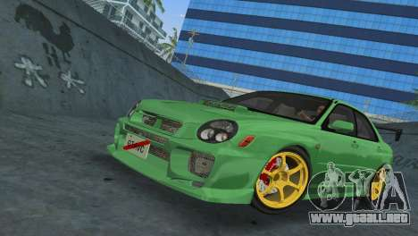 Subaru Impreza WRX 2002 Type 3 para GTA Vice City