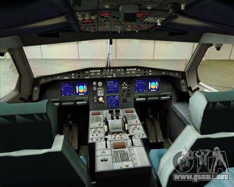 Airbus A340 -313 Iberia para GTA San Andreas interior