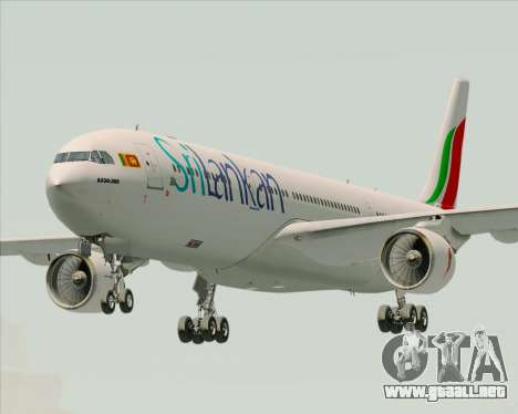 Airbus A330-300 SriLankan Airlines para GTA San Andreas