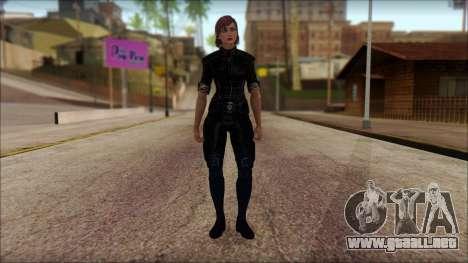 Mass Effect Anna Skin v5 para GTA San Andreas