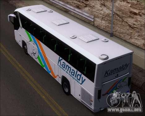 Comil Campione 3.45 Scania K420 Kamaldy para GTA San Andreas vista hacia atrás