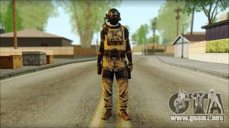 Mercenario (SC: Blacklist) v2 para GTA San Andreas