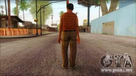 GTA 5 Ped 14 para GTA San Andreas segunda pantalla