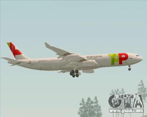 Airbus A340-312 TAP Portugal para el motor de GTA San Andreas