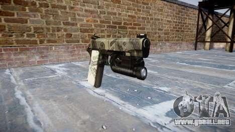 Pistola De Kimber 1911 Benjamins para GTA 4