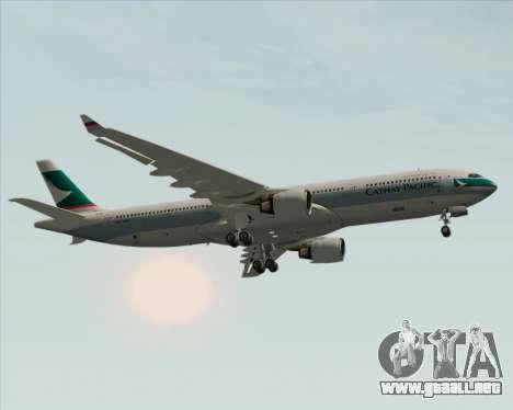 Airbus A330-300 Cathay Pacific para el motor de GTA San Andreas