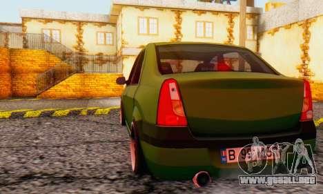 Dacia Logan MOR para la visión correcta GTA San Andreas