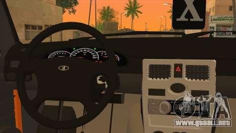 ESTOS 2106 Hobo para GTA San Andreas vista posterior izquierda