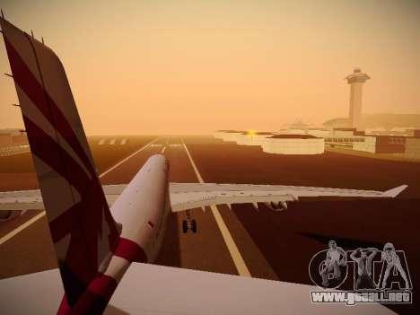Airbus A340-600 Qatar Airways para el motor de GTA San Andreas