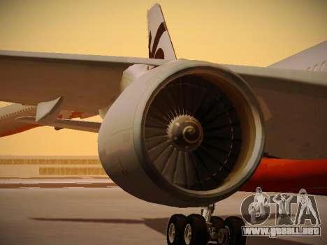 Airbus A330-200 Jetstar Airways para las ruedas de GTA San Andreas