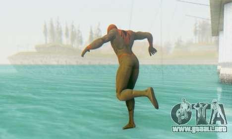 Skin The Amazing Spider Man 2 - Suit Assasin para GTA San Andreas segunda pantalla