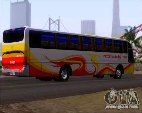 Marcopolo Victory Liner 7001 para la visión correcta GTA San Andreas