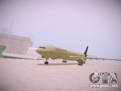Airbus A330-300 Brussels Airlines para GTA San Andreas left
