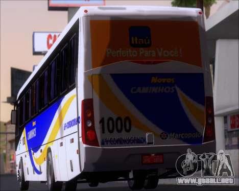 Marcopolo Ideale 770 - Volksbus 17-230 EOD para las ruedas de GTA San Andreas